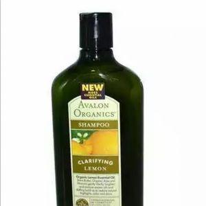 Avalon clarifying lemon shampoo 11 oz . Organic